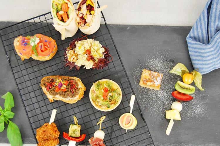 Unser Ratgeber zeigt Ihnen 5 Tipps für ein Fingerfood-Buffet.