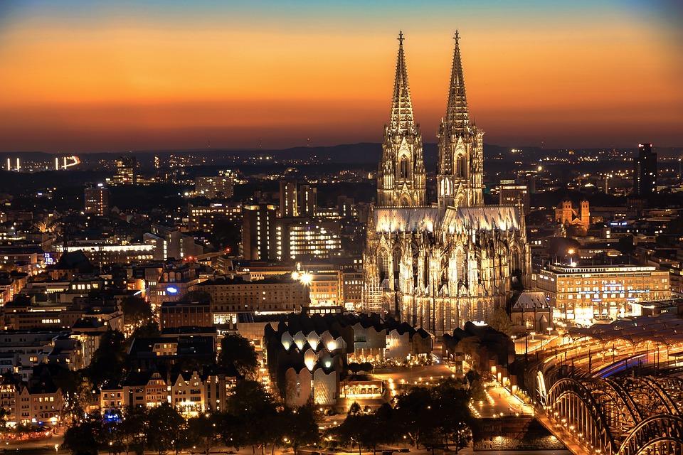 Lage der Location Köln