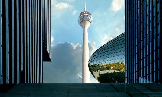 Auf dem Bild zu sehen: Zu unserem Liefergebiet gehört Düsseldorf