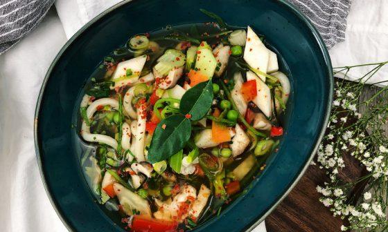Vegane Ramen mit Udon, Shiitake & Chili von EarlyTaste